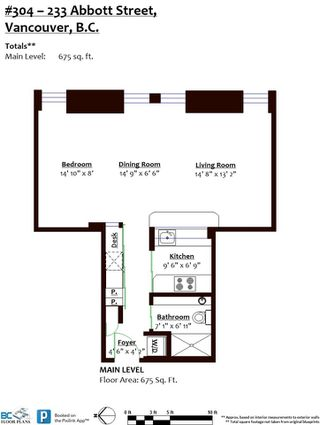 Photo 30: 304 233 ABBOTT Street in Vancouver: Downtown VW Condo for sale (Vancouver West)  : MLS®# R2527446