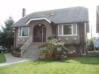 Main Photo: 2594 Grant St in Vancouver: Renfrew VE House for sale (Vancouver East)  : MLS®# V817706