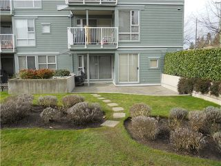 "Photo 3: # 110 2080 E KENT AV in Vancouver: Fraserview VE Condo for sale in ""TUGBOAT LANDING"" (Vancouver East)  : MLS®# V873646"