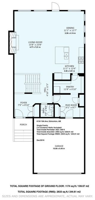 Photo 47: 6134 19A Avenue in Edmonton: Zone 53 House for sale : MLS®# E4199772