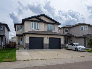 Photo 1: 5119 164 Avenue in Edmonton: Zone 03 House Half Duplex for sale : MLS®# E4206026