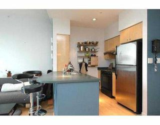 """Photo 4: 710 1018 CAMBIE Street in Vancouver: Downtown VW Condo for sale in """"YALETOWN LIMITED"""" (Vancouver West)  : MLS®# V643037"""