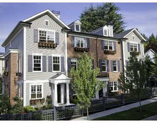 """Photo 1: 56 101 FRASER Street in Port_Moody: Port Moody Centre Townhouse for sale in """"CORBEAU"""" (Port Moody)  : MLS®# V685043"""