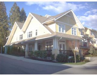 """Photo 1: 13 6878 SOUTHPOINT Drive in Burnaby: South Slope Townhouse for sale in """"CORTINA"""" (Burnaby South)  : MLS®# V691478"""