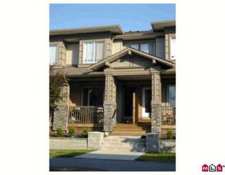 Photo 1: 87 18701 66TH Av in Cloverdale: Townhouse for sale : MLS®# F2620212