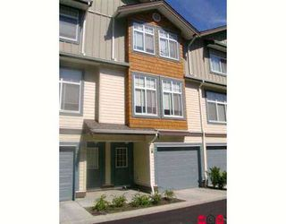 """Main Photo: 37 16588 FRASER Highway in Surrey: Fleetwood Tynehead Townhouse for sale in """"CASTLE PINES"""" : MLS®# F2723043"""