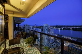 """Photo 2: 1804 610 VICTORIA Street in New Westminster: Downtown NW Condo for sale in """"The Point"""" : MLS®# R2398304"""