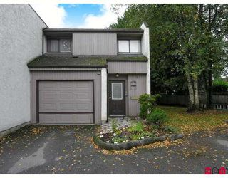 Photo 1: 101 3455 WRIGHT Street in Abbotsford: Matsqui Townhouse for sale : MLS®# F2725910