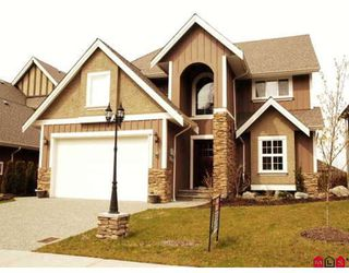 "Photo 1: 7 3580 CREEKSTONE Drive in Abbotsford: Abbotsford East House for sale in ""Creekstone Estates"" : MLS®# F2808344"