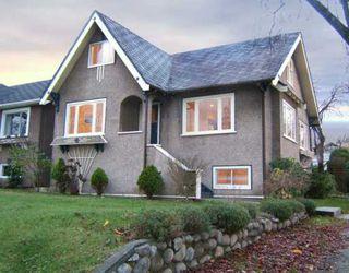"Photo 1: 2704 GRAVELEY Street in Vancouver: Renfrew VE House for sale in ""RENFREW"" (Vancouver East)  : MLS®# V621896"