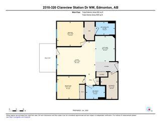 Photo 35: 2310 320 Clareview Station Dr Edmonton 2 Bed 2 Bath Condo E4201284