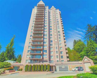 "Photo 1: 1803 551 AUSTIN Avenue in Coquitlam: Coquitlam West Condo for sale in ""Brookmere Towers"" : MLS®# R2467490"