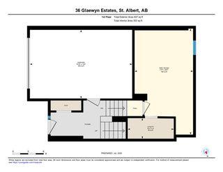 Photo 31: 36 Glaewyn Estates: St. Albert Townhouse for sale : MLS®# E4204462