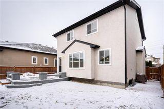 Photo 40: 92 Beachham Crescent in Winnipeg: Bridgwater Forest Residential for sale (1R)  : MLS®# 202029632