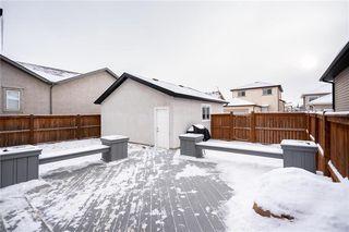 Photo 39: 92 Beachham Crescent in Winnipeg: Bridgwater Forest Residential for sale (1R)  : MLS®# 202029632