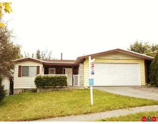 "Photo 1: 13895 PARK Drive in Surrey: Bolivar Heights House for sale in ""BOLIVAR HEIGHTS"" (North Surrey)  : MLS®# F2726099"