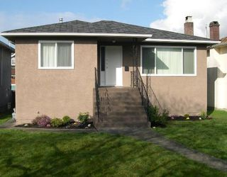 Photo 1: 5407 DUMFRIES Street in Vancouver: Knight House for sale (Vancouver East)  : MLS®# V696589