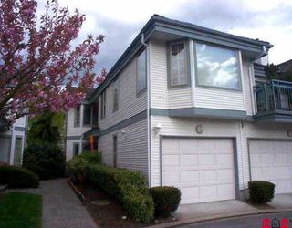 "Photo 1: 19 15840 84TH AV in Surrey: Fleetwood Tynehead Townhouse for sale in ""Fleetwood Gables"" : MLS®# F2608332"