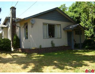 Photo 1: 1605 JACKSON Street in Abbotsford: Poplar House for sale : MLS®# F2916438