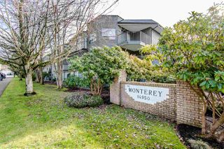 "Photo 1: 108 14950 THRIFT Avenue: White Rock Condo for sale in ""THE MONTEREY"" (South Surrey White Rock)  : MLS®# R2432223"