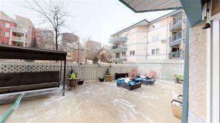 Photo 39: 115 10403 98 Avenue in Edmonton: Zone 12 Condo for sale : MLS®# E4192015