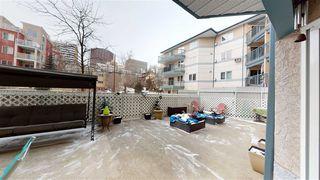 Photo 38: 115 10403 98 Avenue in Edmonton: Zone 12 Condo for sale : MLS®# E4192015