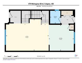 Photo 3: 479 MAHOGANY Boulevard SE in Calgary: Mahogany Semi Detached for sale : MLS®# A1025013
