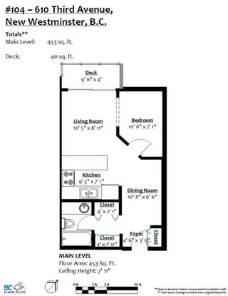 """Photo 20: 104 610 THIRD Avenue in New Westminster: Uptown NW Condo for sale in """"Jae-Mar Court"""" : MLS®# R2491163"""