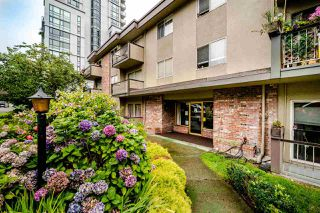 """Photo 1: 104 610 THIRD Avenue in New Westminster: Uptown NW Condo for sale in """"Jae-Mar Court"""" : MLS®# R2491163"""