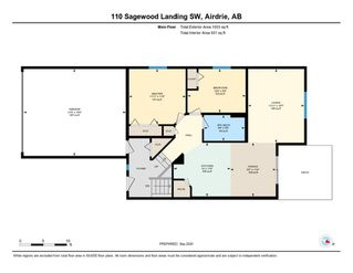 Photo 38: 110 SAGEWOOD Landing SW: Airdrie Detached for sale : MLS®# A1032905