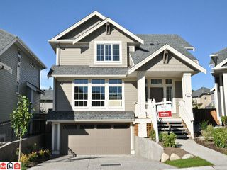 "Photo 1: 6092 163A Street in Surrey: Cloverdale BC House for sale in ""VISTA'S WEST"" (Cloverdale)  : MLS®# F1028280"