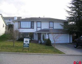 Photo 1: 3294 PURCELL AV in Abbotsford: Abbotsford East House for sale : MLS®# F2604034