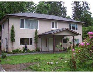 Photo 1: 27236 BELL Avenue in Maple_Ridge: Whonnock House for sale (Maple Ridge)  : MLS®# V722548