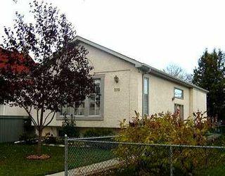 Photo 1: 273 MARJORIE Street in WINNIPEG: St James Residential for sale (West Winnipeg)  : MLS®# 2516852