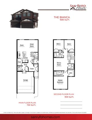 Photo 2: 186 Rankin Drive: St. Albert House Half Duplex for sale : MLS®# E4217931