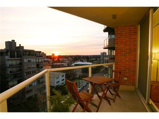 """Photo 9: 801 1575 W 10TH Avenue in Vancouver: Fairview VW Condo for sale in """"THE TRITON"""" (Vancouver West)  : MLS®# V862068"""