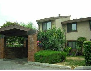 """Photo 1: 38 11751 KING RD in Richmond: Ironwood Townhouse for sale in """"KINGSWOOD DOWNES"""" : MLS®# V605156"""