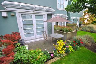 "Photo 22: 103 1920 E KENT SOUTH Avenue in Vancouver: Fraserview VE Townhouse for sale in ""HARBOUR HOUSE"" (Vancouver East)  : MLS®# V802219"