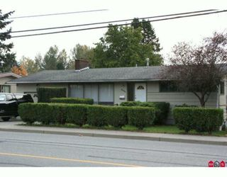 Photo 1: 33926 MARSHALL Road in Abbotsford: Central Abbotsford House for sale : MLS®# F1004208