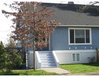 Photo 1: 2636 ST CATHERINES Street in Vancouver: Mount Pleasant VE 1/2 Duplex for sale (Vancouver East)  : MLS®# V812567