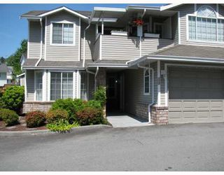 """Main Photo: 112 22515 116TH Avenue in Maple_Ridge: East Central Townhouse for sale in """"WEST GROVE ESTATES"""" (Maple Ridge)  : MLS®# V770515"""