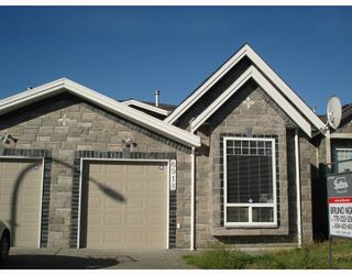 Photo 1: 6918 CUNNINGHAM Court in Burnaby: Burnaby Lake House 1/2 Duplex for sale (Burnaby South)  : MLS®# V775193