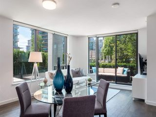 """Main Photo: 101 1688 PULLMAN PORTER Street in Vancouver: Mount Pleasant VE Townhouse for sale in """"Navio South"""" (Vancouver East)  : MLS®# R2389097"""