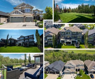 Photo 1: 4031 Whispering River Drive in Edmonton: Zone 56 House for sale : MLS®# E4208742