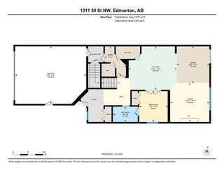 Photo 49: 1311 30 Street in Edmonton: Zone 30 House for sale : MLS®# E4217047