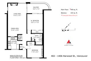 """Photo 22: 402 1406 HARWOOD Street in Vancouver: West End VW Condo for sale in """"JULIA COURT"""" (Vancouver West)  : MLS®# R2527458"""