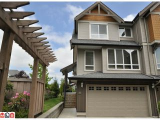 "Photo 1: 50 16789 60TH Avenue in Surrey: Cloverdale BC Townhouse for sale in ""Laredo"" (Cloverdale)  : MLS®# F1014213"