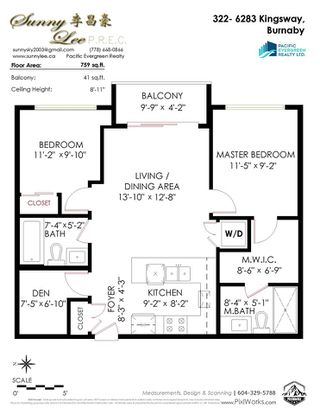 "Photo 37: 322 6283 KINGSWAY in Burnaby: Highgate Condo for sale in ""PIXEL"" (Burnaby South)  : MLS®# R2514213"