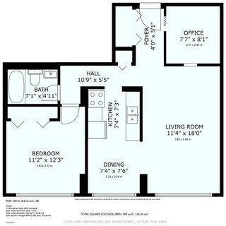 Photo 25: 1010 9909 104 Street in Edmonton: Zone 12 Condo for sale : MLS®# E4223383
