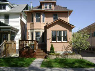 Photo 1:  in WINNIPEG: West End / Wolseley Residential for sale (West Winnipeg)  : MLS®# 1009460